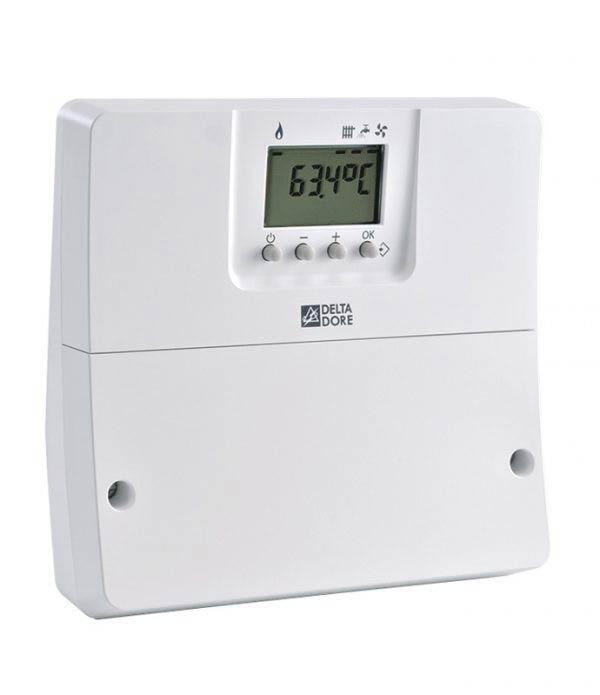 Indicateur de consommation et température connecté