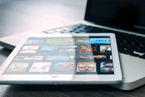 Gérez vos films depuis votre tablette